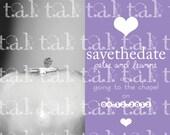 TAL0041 - Digital Custom Save The Date Announcement