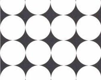 SALE! 1/4m Disco Dot Charcoal - Michael Miller