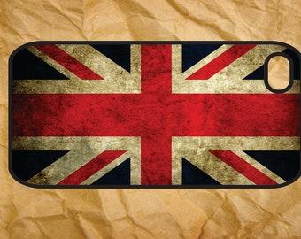 Great Britain Flag Vintage - iPhone 4 / 4s Case, iPhone 5 Case