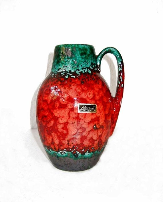 Vintage Scheurich 414 Vase