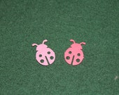 100 Lady Bugs 50 pink 50 red Dicuts Confetti