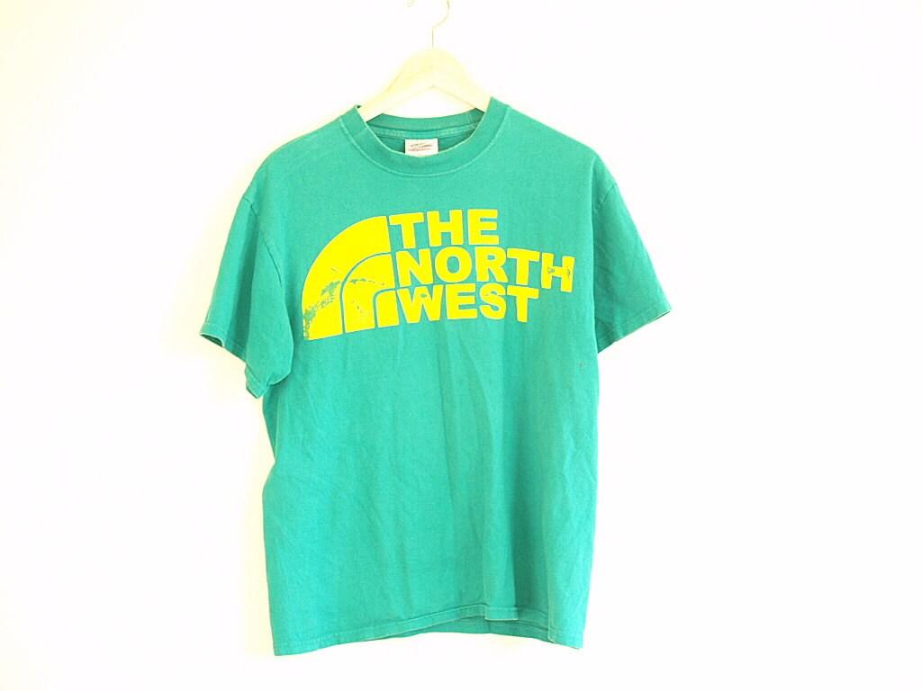 vintage 90 39 s t shirt the north west size m
