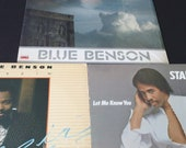 colection of jazz guitar men lp's Stanley Clarke George Benson Eric Gale