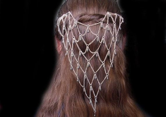 Chainmail Hair Piece / Veil