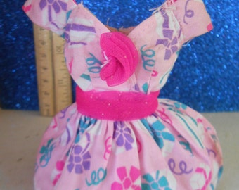 Vintage Barbie Springtime Party Dress