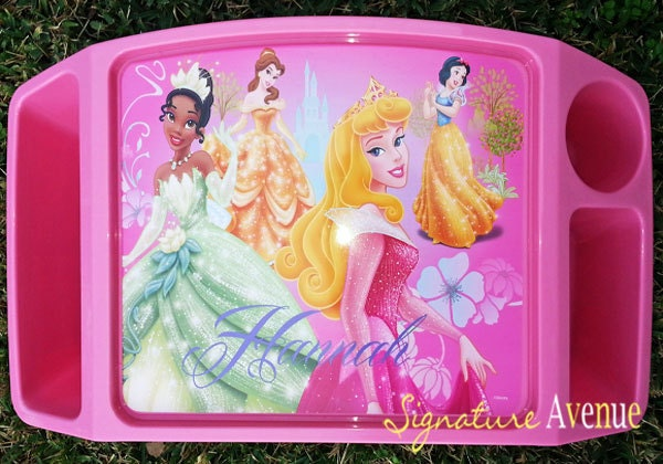 plastic childrens lap tray personalized activity tray cars princess zoom