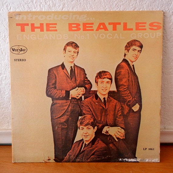 Beatles Record Introducing The Beatles Vintage By