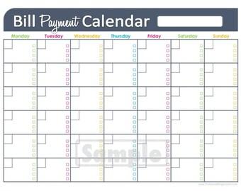 home finance bill organizer template - mini monthly bill organizer templates images search