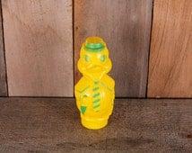 Yellow Plastic Duck Dandy Bank Cane Umbrella Tie