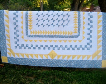SALE, Buy 2/Get 1 Free -- NIGHT FLIGHT, pdf quilt pattern,  twin and queen size