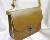 Small Leather Cross Body Bag, Shoulder Bag, Leather Bag Purse, Leather Satchel, Leather Purse