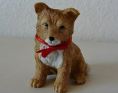 Vintage Homco Figurine Puppy Dog 8828