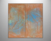 "Abstract Painting ""Chasing Rays"" - Original Art from Ease the Soul Artworks by Jackson P"