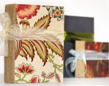 Photo Album Guest Book Family Photo Album Floral Wedding Fabric Covered Baby Photo Book