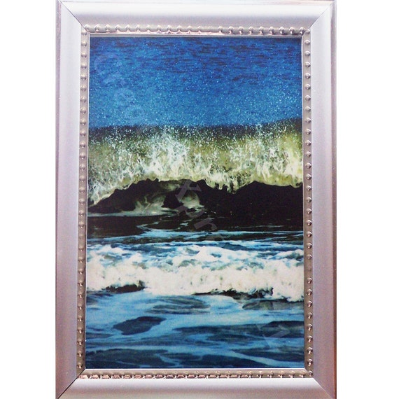 OCEAN - Wave Dance FRAMED- 5 x 7 Photo Print