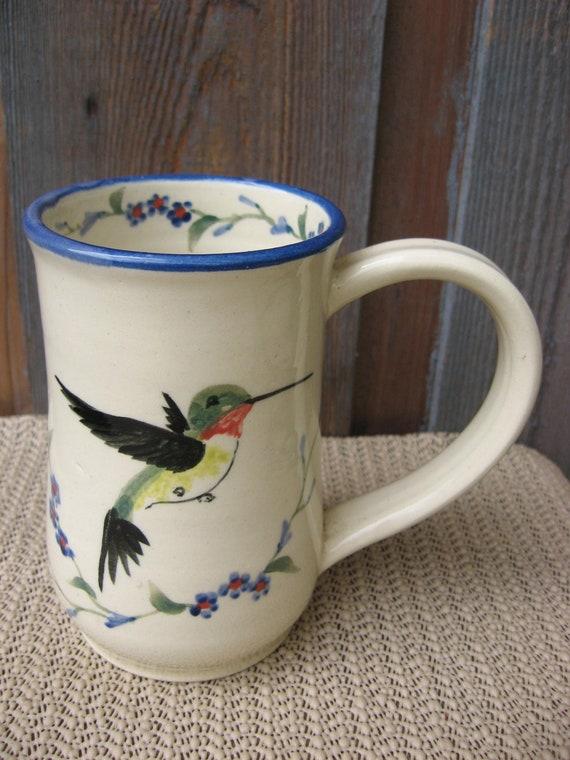 Flying Hummingbird Mug Free 2 day shipping