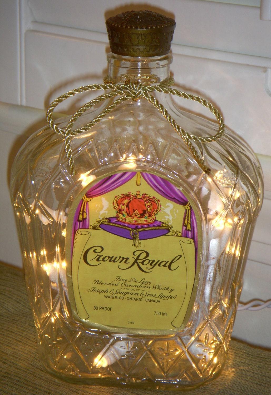 Vintage crown royal whiskey that