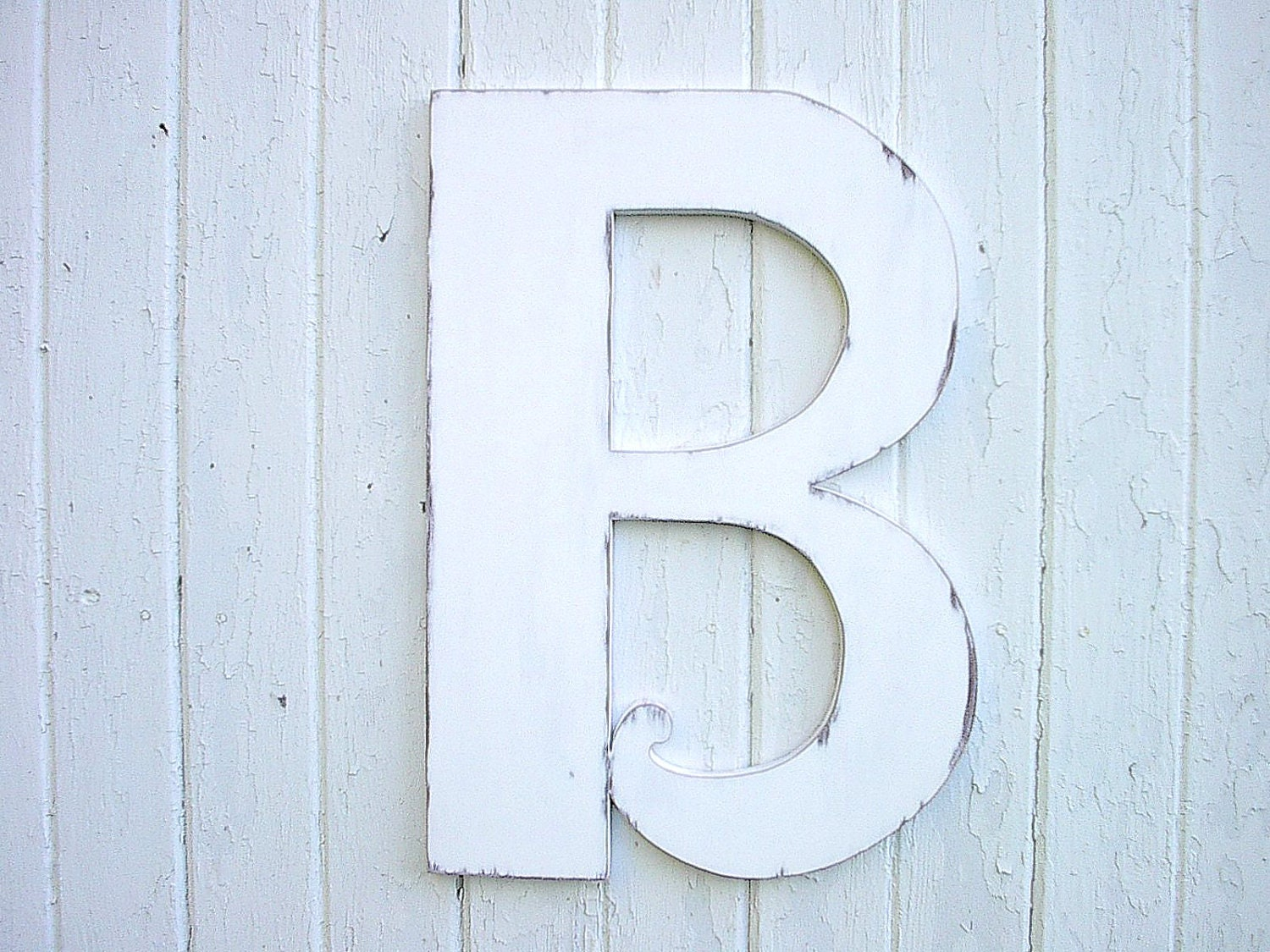 wooden letters b 24 distressed white large wedding decor With distressed white wooden letters