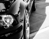 Ford Cobra, Car Photography, Mustang, Automotive, Classic Car, Muscle Car, Fine Art Photography, Black and White, Boys room, Decor, Kids