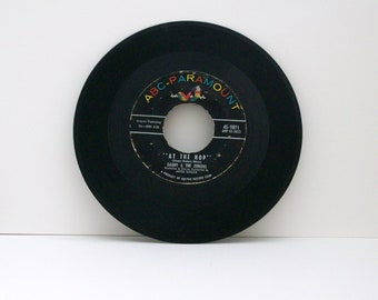45 Vinyl Record, Danny and the Juniors, At the Hop, ABC Paramount Records, 45-9871,  yr 1957