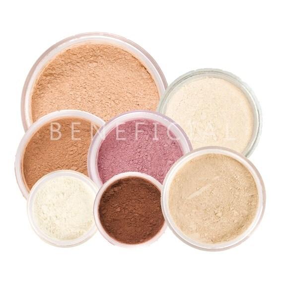 9pc FRESH START Mineral Makeup Kit