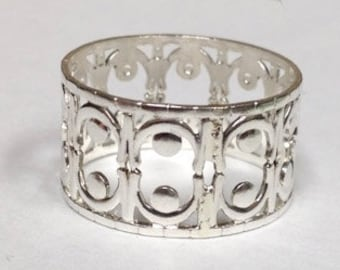 Sterling Silver Lace Ring Style 3