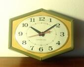 Vintage Clock - 1960s GE Wall Clock