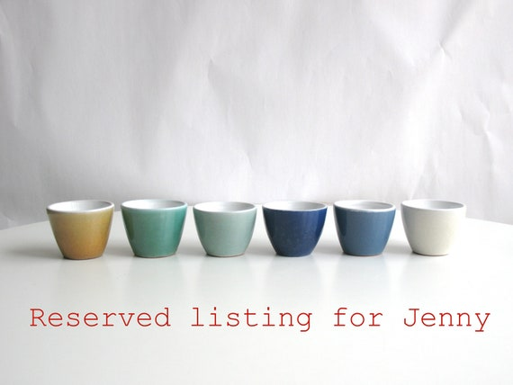 RESERVED listing for Jenny