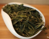 Green Tea - Organic Dragonwell Loose Leaf Tea Premium Level NET 30 grams/ 1.1 OZ