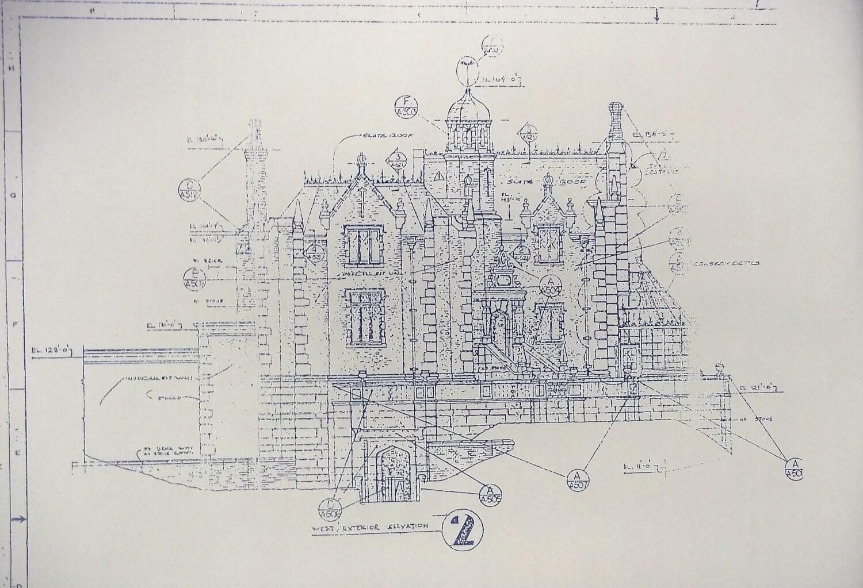 Walt Disney World Haunted Mansion Elevation By Blueprintplace