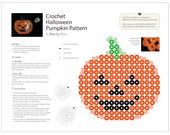 Halloween Pumpkin Placemat Pattern