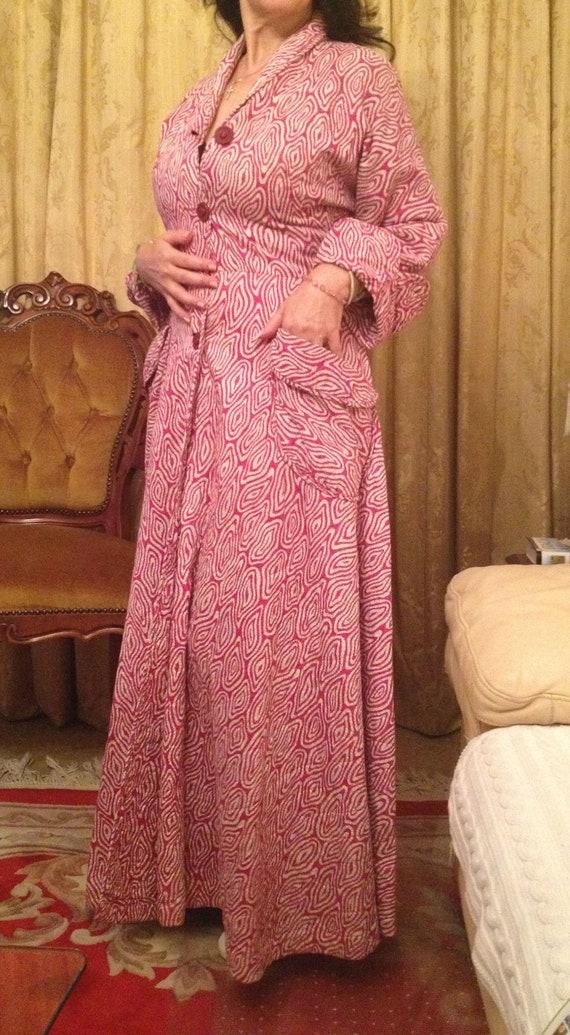 Vintage 1950s Housecoat