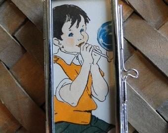 Summer Boy Son Pendant Grandson Music Necklace