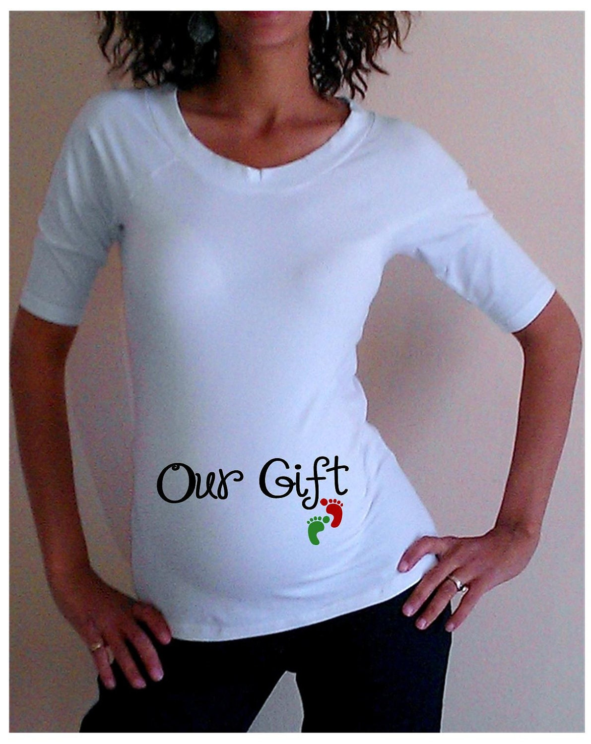 Maternity Christmas Shirt Crazy Dog T-Shirts Maternity Christmas Baby Peeking Elf Funny T shirt Holiday Xmas Pregnancy T shirt. by Crazy Dog T-Shirts. $ - $ $ 15 $ 17 out of 5 stars Product Features guaranteed! This is a maternity shirt designed to fit expecting.