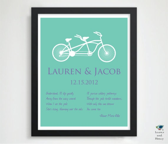 Items Similar To Engagement Gift For Her Him Husband Newlyweds 1st Anniversary