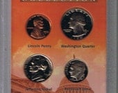 Collectible Presidential Proof Coin Collection - Encased in plastic