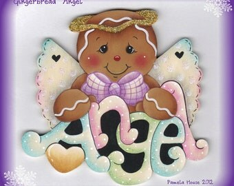 "Gingerbread ""Angel"" E-Pattern"