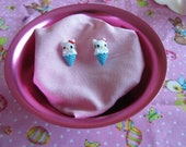 Hello Kitty Ice Cream Stud Earrings
