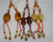 Phone chains natural agate mobile chains gift for friends