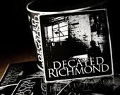 Decayed Richmond 4x4 inch Vinyl sticker