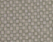 Light green check by  Moda and Deb Strain 32 inches  OOP 100% Cotton Fabric