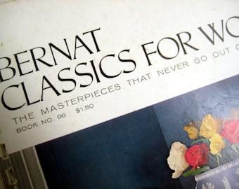 Bernat Handi crafter Book No.96 with 28 classic knitting patterns for women