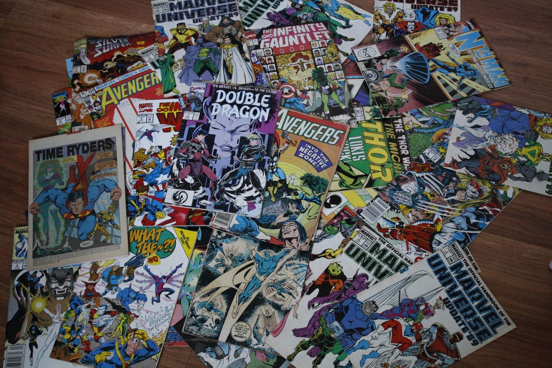 56 random vintage comic -#main