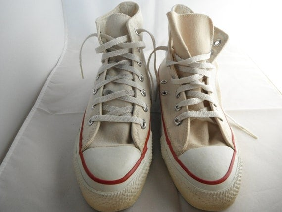 Vintage Converse All Star Chuck Taylor Shoes Mens Size 5 1960's