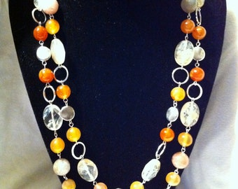 Beautiful linked necklace