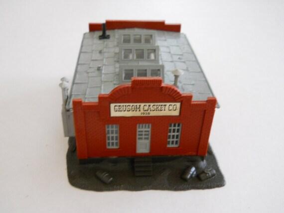 Retro Building for Train or Village