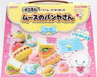 Japanese Kutsuwa Fuwa Fuwa Mousse Paper Clay Deco DIY Kit: Bakery