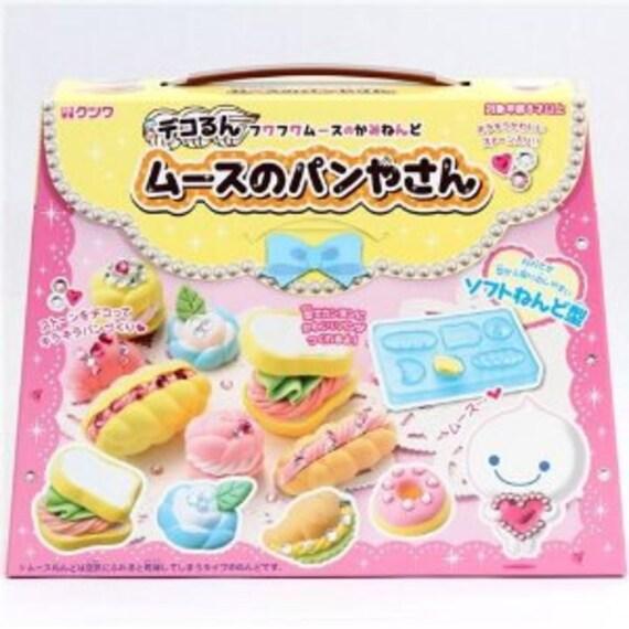 Japanese Kutsuwa Fuwa Fuwa Mousse Paper Clay Deco DIY Kit: Bakery