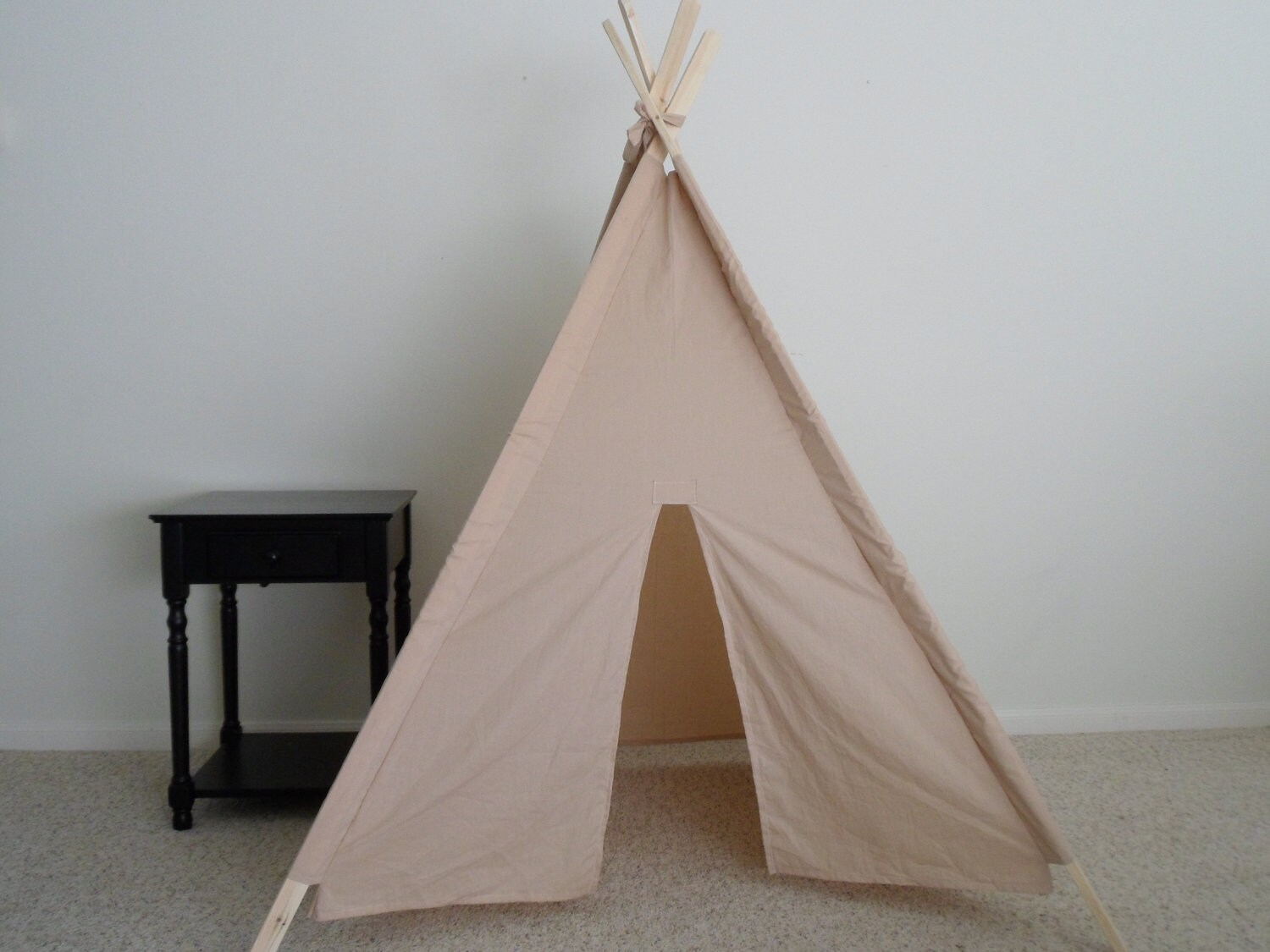 Tea Dyed Muslin Teepee Made To Order Kids Teepees Tent