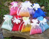 Air Freshener Sachets, Choice of Scents, Aromatherapy Room Car Air Freshener, Organza Bag Drawer Sachet, Wedding Party Favor, Made to Order